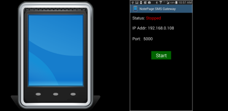 Android SMS Gateway